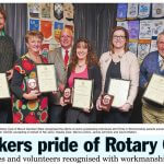 Rotary Pride of Workmanship 2015 Nel Jans